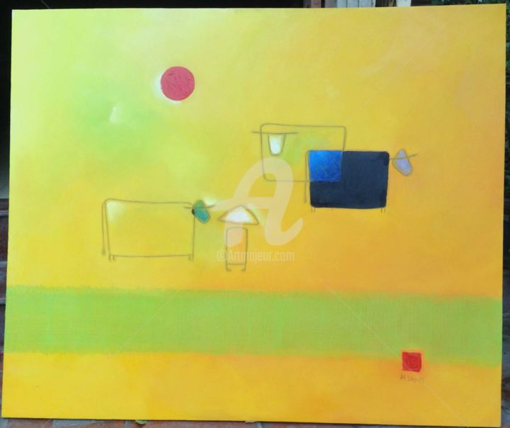 """Painting titled """"Oil Painting Pham H…"""" by Pham Hung Lam, Original Art, Oil"""