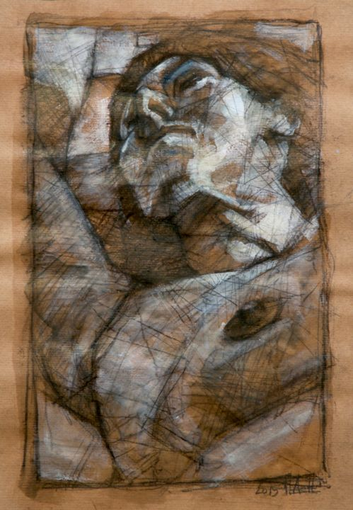 Etude - Drawing, ©2015 by Amirault -