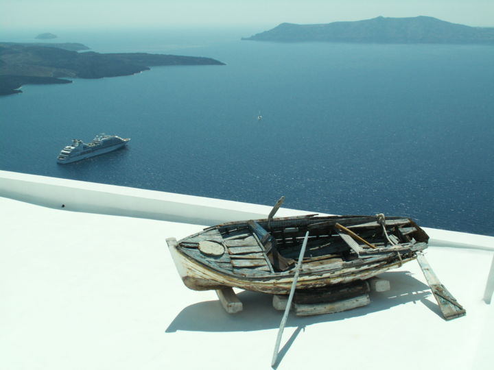 Santorin1 - Photography ©2009 by Philippe Leclerc, graphiste -
