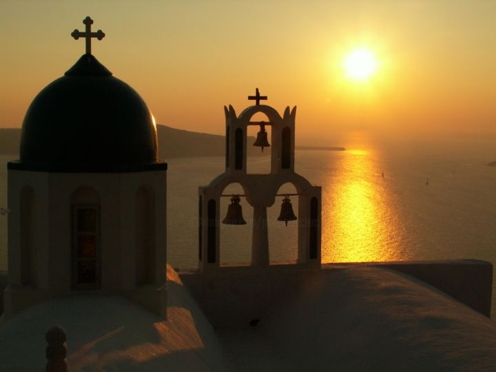 Santorin 5 - Photography ©2009 by Philippe Leclerc, graphiste -