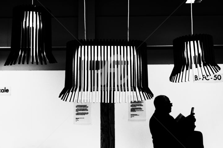 """Photography titled """"The lampshade (L'ab…"""" by Alain Romeas (PhotoAR), Original Art, Digital Photography"""