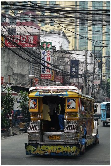Jeepway à Manille - Photography, ©2009 by Michel Hervo -