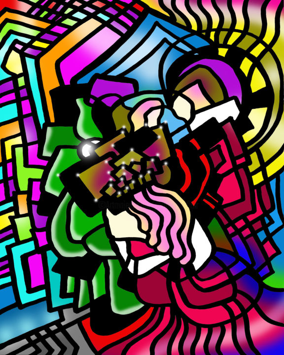 Trinity Queen - Digital Arts, ©2019 by Photoshopflair -                                                                                                                                                                                                                                                                                                                                                                                                                                                                                                                                                                                                                                                                                                                                                                                                                                                                                                                                                          Abstract, abstract-570, Abstract Art, Colors, Geometric, Trinity, Three, Person, Art, Design, Drawing, Illustration, Digital Art, Computer Art, Abstract, Abstraction, Abstractionist, Cool, Colorful, Nice