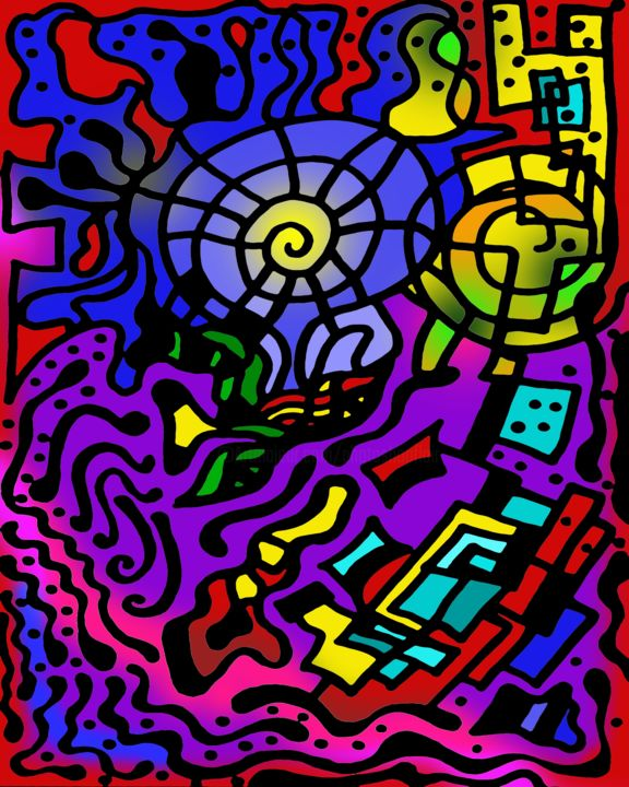 Creation Theory - Digital Arts, ©2019 by Photoshopflair -                                                                                                                                                                                                                                                                                                                                                                                                                                                                                                                                                                                                                                                                                                                                                                                                                                                                                                                                                                                                      Abstract, abstract-570, Abstract Art, Colors, Geometric, Art, Design, Colorful, Drawing, Illustration, Create, Creative, Creation Theory, Non Objective Art, Awesome, Cool, Nice, Spectacular, Abstract Art, Abstraction, Abstractionism