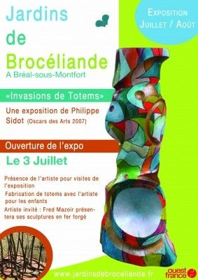 Invasions de totems à Brocéliande