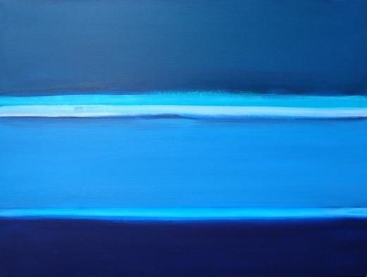water inside - Painting,  30x40 cm ©2010 by Pier Maurizio Greco -