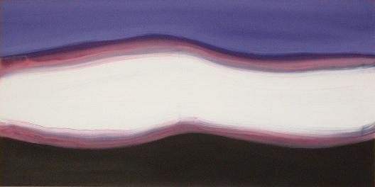 flusso - Painting,  120x60 cm ©1994 by Pier Maurizio Greco -