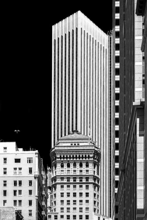 """Photography titled """"San Francisco - Ele…"""" by Pierre Nadler, Original Art, Digital Photography Mounted on Other rigid panel"""