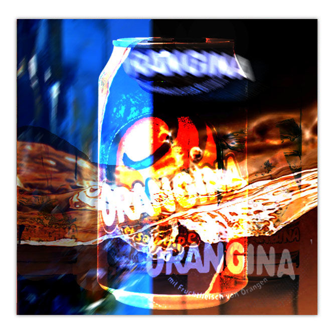 orangina-flou.jpg - Painting ©2016 by Pierre olié -