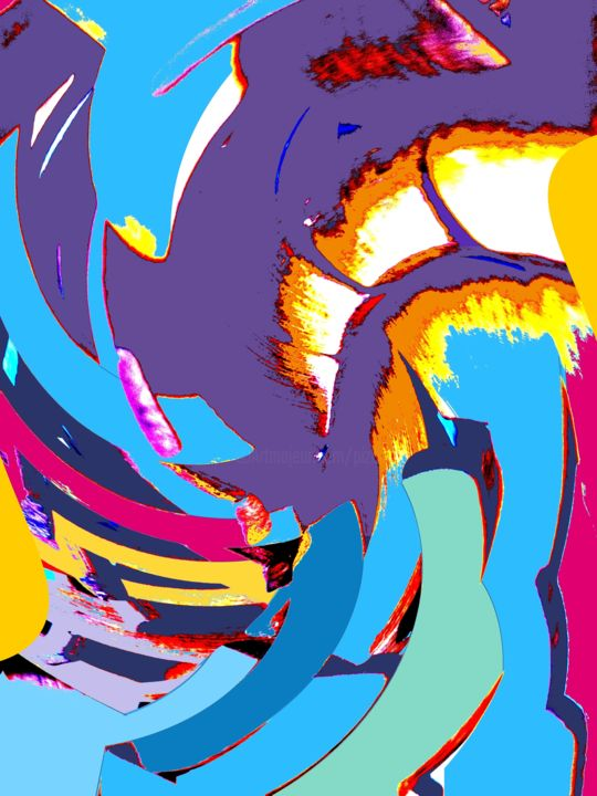 evolution.jpg - Digital Arts ©2015 by Jacqueline PIZANO -                                            Abstract Art, Abstract Art, Art numérique - art abstrait