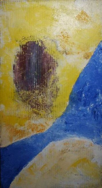 A-4 - Painting,  39x83.5 cm ©2005 by Andrey Poliakov -                        Abstract Art