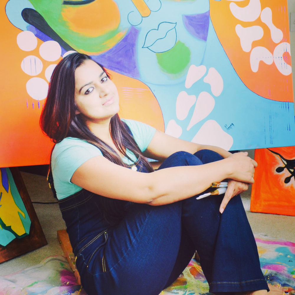 They sold on Artmajeur: poonam choudhary
