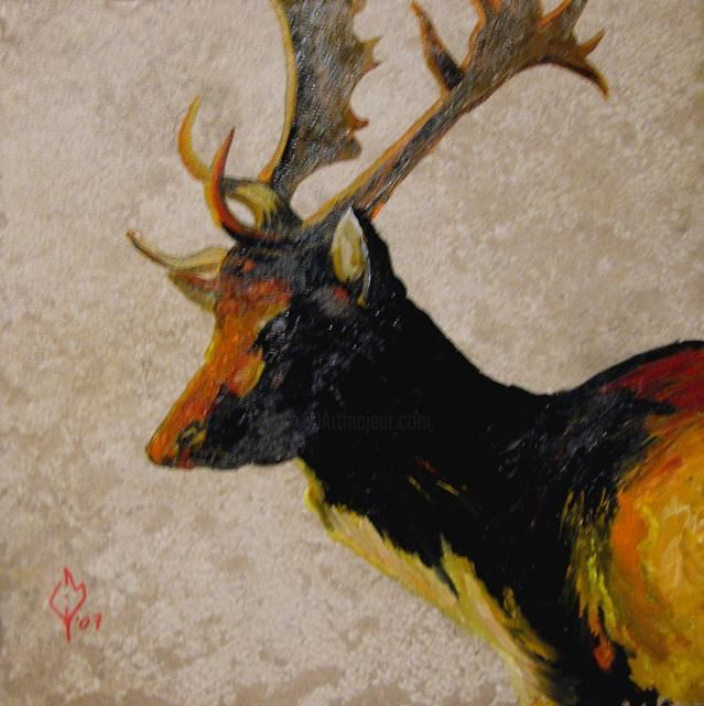 """Painting titled """"Fallow Me"""" by Clifford Vanmeter, Original Art, Oil"""