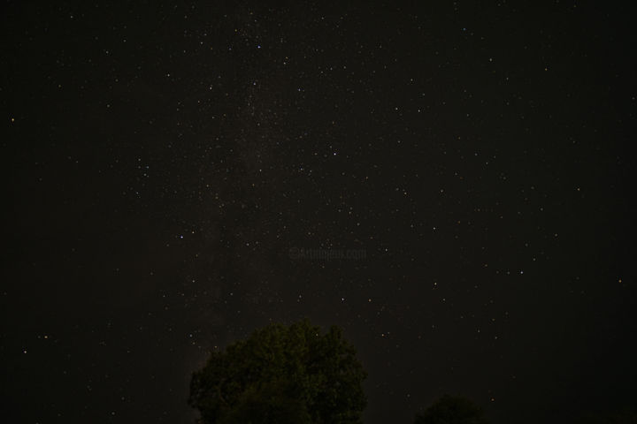 """Photography titled """"Partial milky way a…"""" by Rahul, Original Art, Digital Photography"""