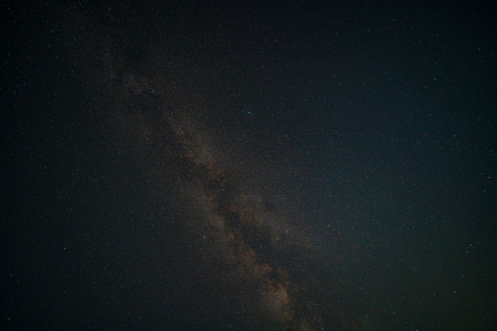 """Photography titled """"Milky way above and…"""" by Rahul, Original Art, Digital Photography"""
