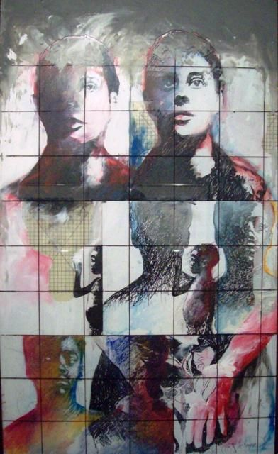 """Collages titled """"Someone to watch ov…"""" by Sylvester Hickmon, Original Art,"""