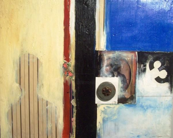 """Collages titled """"Three Days"""" by Sylvester Hickmon, Original Art,"""
