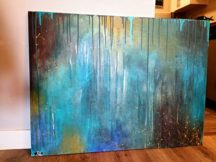 """Painting titled """""""" revelations - the…"""" by Rachelle Yacoub, Original Art, Acrylic"""