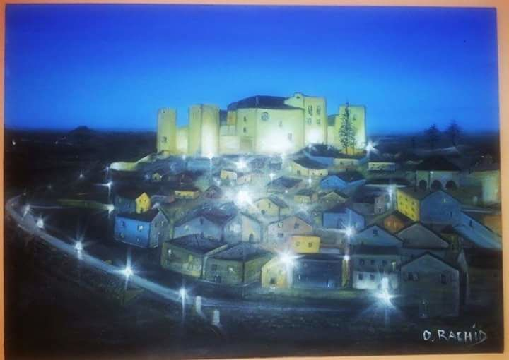 """Painting titled """"fb-img-144719577756…"""" by Rachid Ouala, Original Art,"""