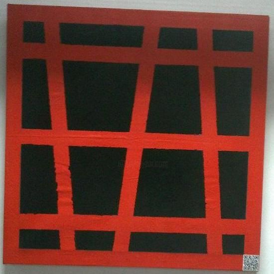 Painting,  80 x 80 cm ©2011 by Mohammed Rahmouni -  Painting