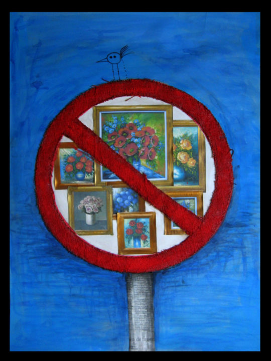 """Painting titled """"TOXIC 03"""" by Raluca Sfetea, Original Art, Other"""