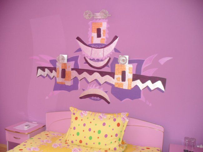 """Photography titled """"purpple Room"""" by Ralu, Original Art,"""