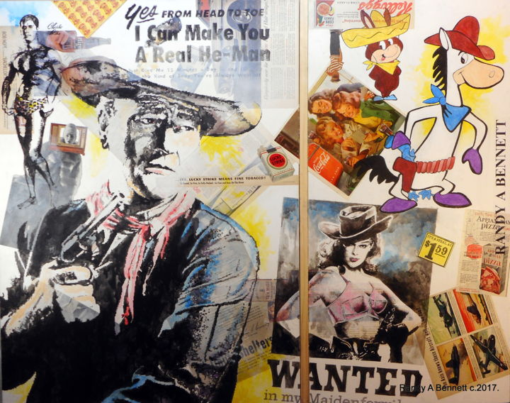 WANTED - ©  POP ART Online Artworks