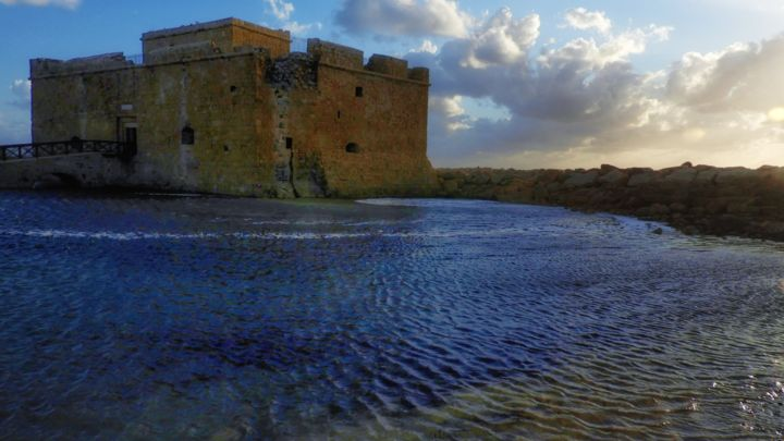 Pafos castle - Photography, ©2020 by Ravid Wolff -