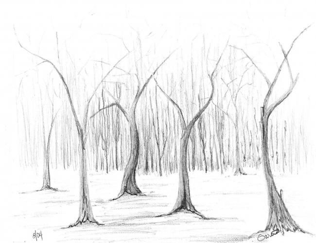 """Drawing titled """"Untitled # 5"""" by Ray Garcia, Original Art,"""