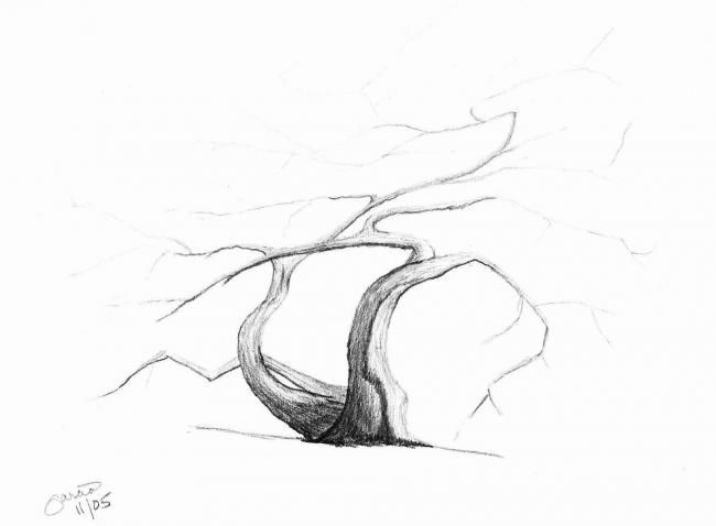 """Drawing titled """"Untitled # 6"""" by Ray Garcia, Original Art,"""