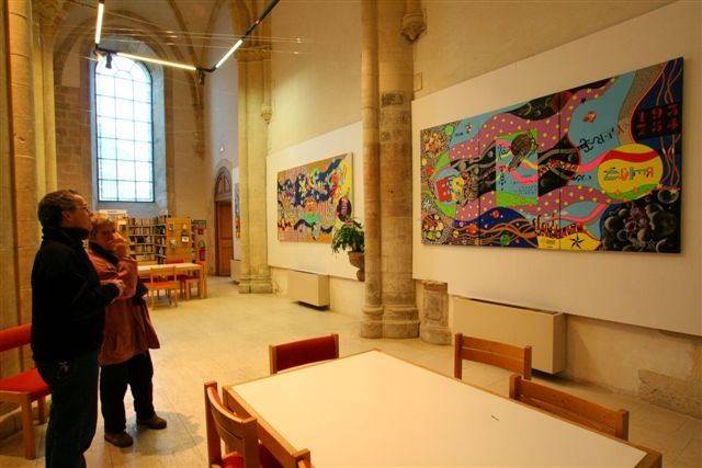 Expo Falaise 2005 - Painting, ©2005 by Remy Rault -
