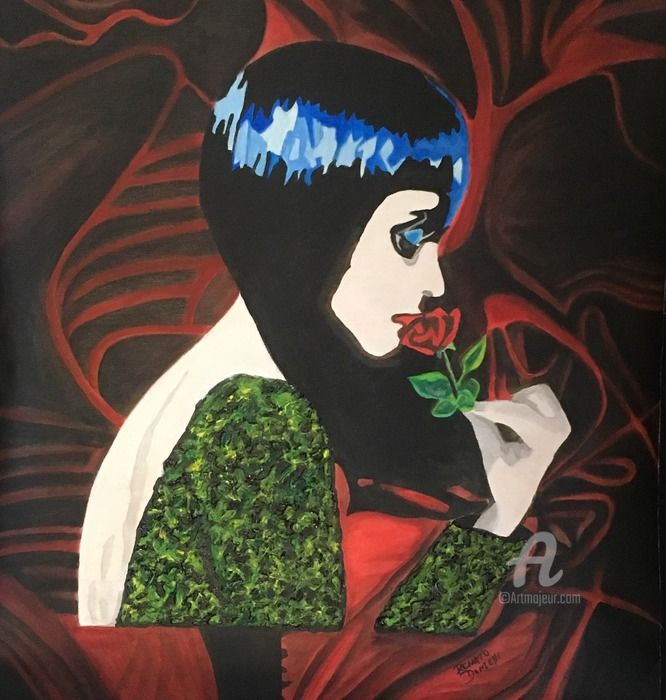 """Painting titled """"Smell of memories"""" by Renato Donzelli, Original Art, Acrylic"""
