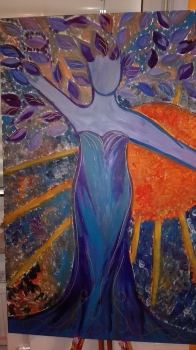 """Painting titled """"img-20160223-161845…"""" by Renca, Original Art, Acrylic"""