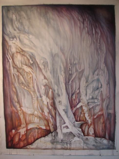 """Painting titled """"The Dreaming Man."""" by Neal Curtin, Original Art, Oil"""