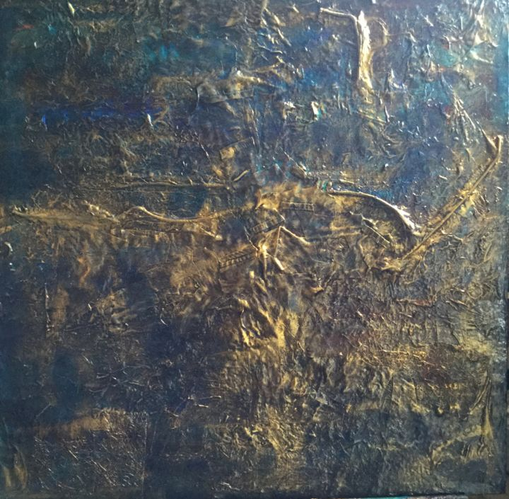 """Painting titled """"Tumultuous"""" by Sonja Bremmers, Original Art, Acrylic"""