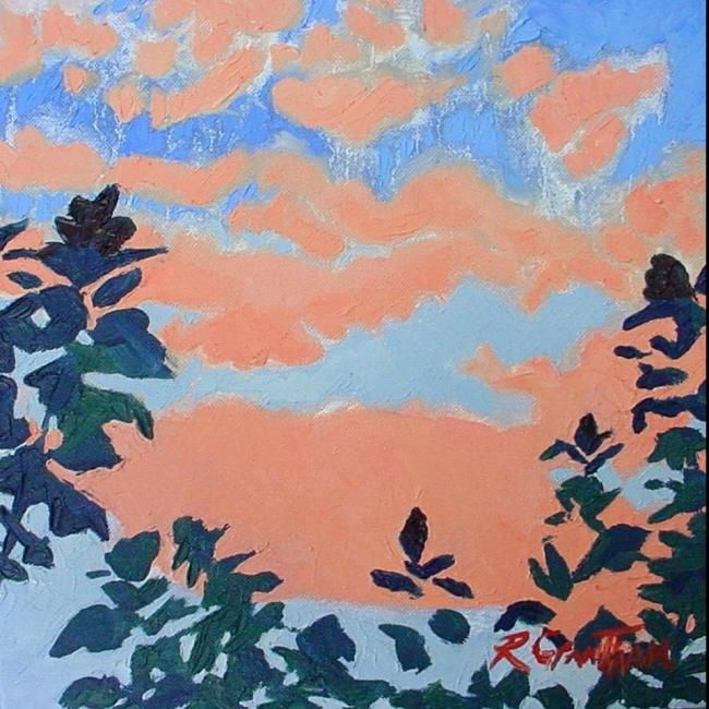 """Painting titled """"Rose No.9"""" by Rebecca Grantham, Original Art, Oil"""