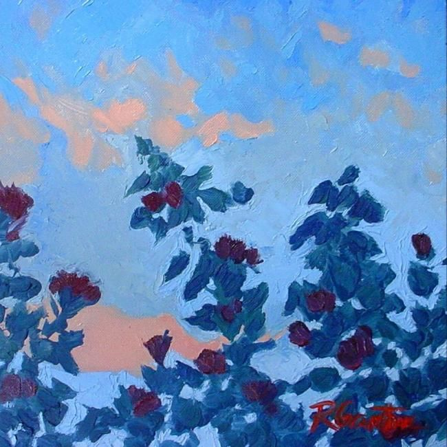 """Painting titled """"Rose No. 11"""" by Rebecca Grantham, Original Art,"""