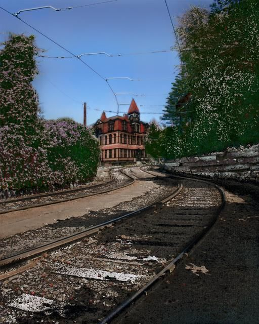 Church Street Infirmary - Digital Arts,  12x15 in ©2012 by Richard Dodds -