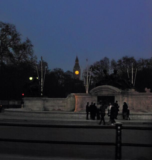 Time Piece (near Buckingham Palace, London) - Photography,  12x12 in ©2012 by Richard Dodds -