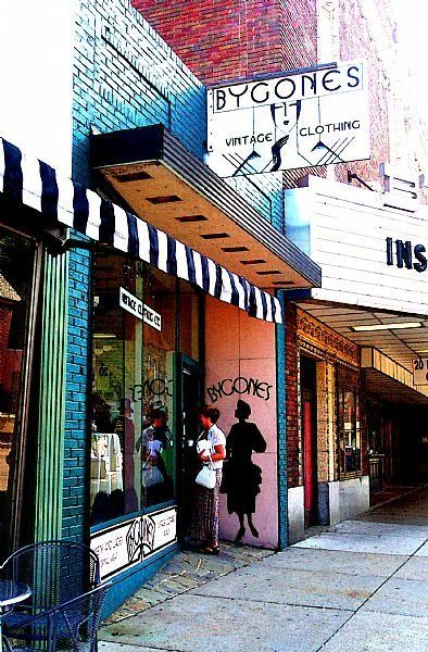 Bygones - Photography,  8x10 in ©2007 by Susan Lamson -            Boutique Carytown Bygones Cary Street Richmond Virginia