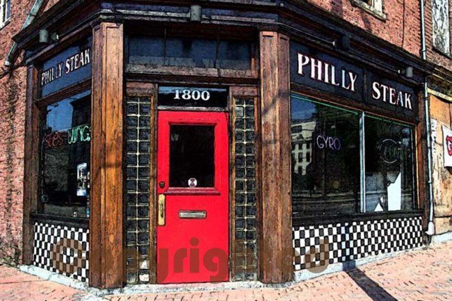 Philly Steak - Photography, ©2007 by Susan Lamson -