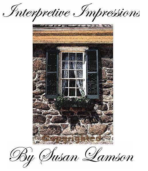 Poe Window - Photography,  10x8 in ©2007 by Susan Lamson -