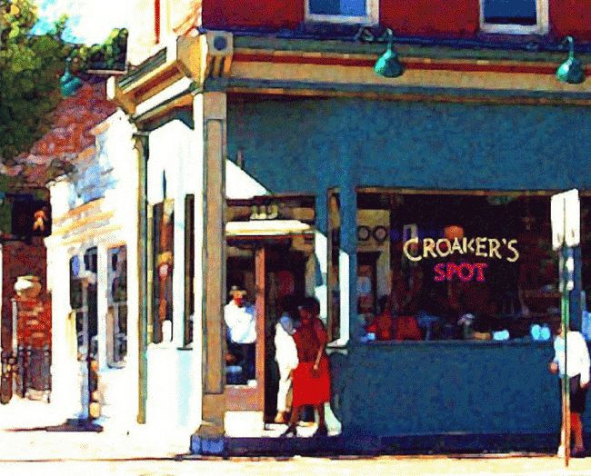 Croaker's Spot - Photography, ©2007 by Susan Lamson -