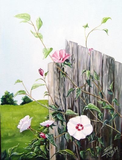 """Painting titled """"Symphony in June"""" by Steven Riggs, Original Art,"""
