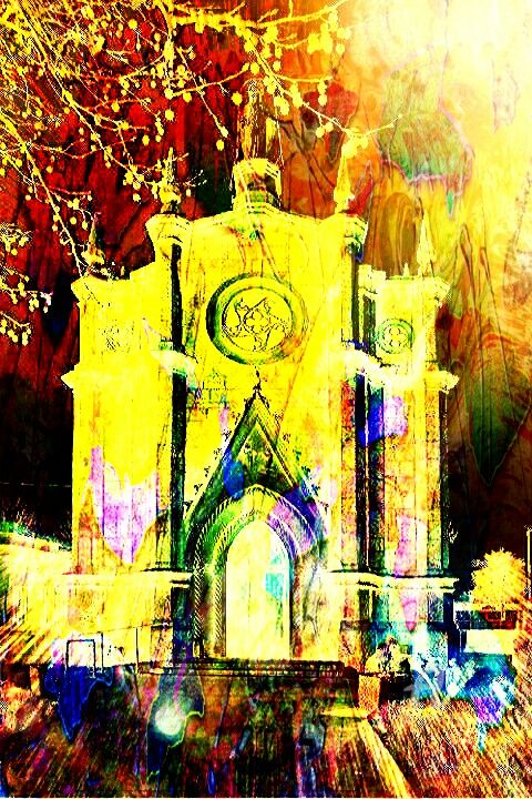 Chiesa - Digital Arts, ©2018 by Rita Celona -