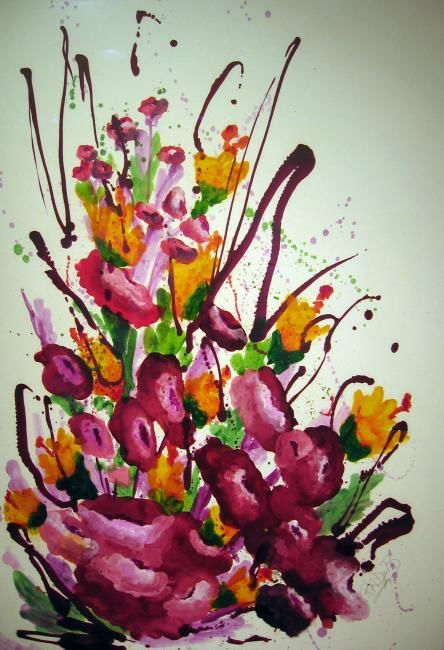 Floral Splash - © 2013  Online Artworks