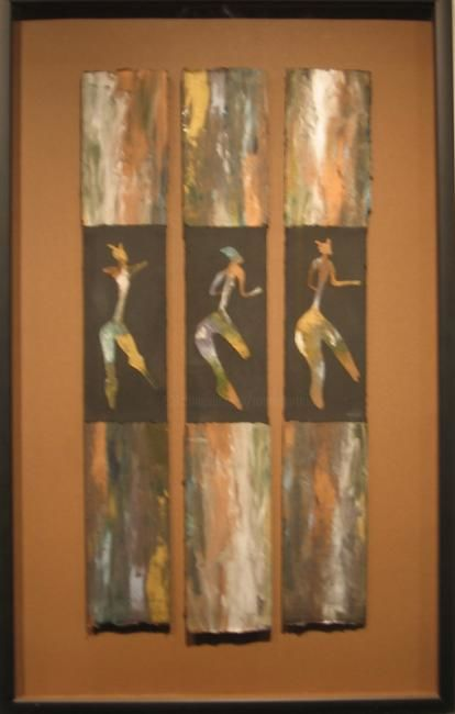 The Ladies - Painting,  29x18 in, ©2013 by Rob DeBartolo -