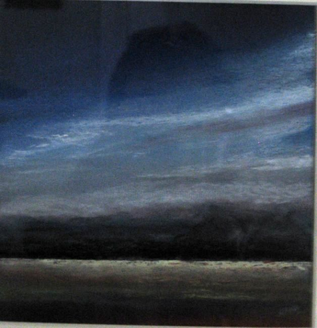 Evening - Painting,  14x10 in, ©2013 by Rob Debartolo -