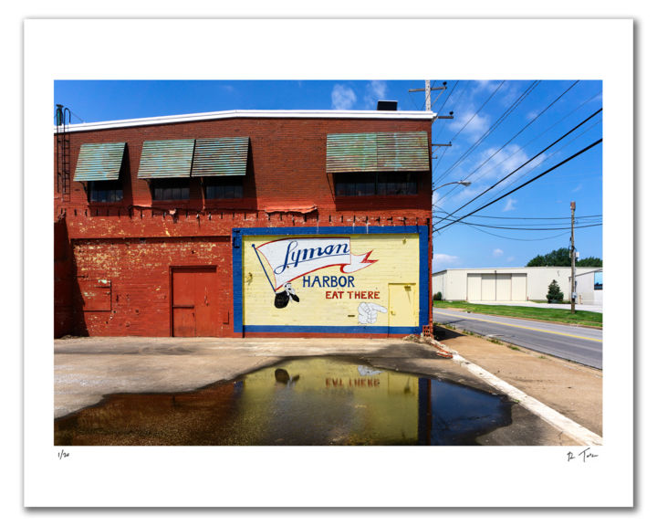 """Photography titled """"Eat There"""" by Robert Tolchin, Original Art, Digital Photography"""