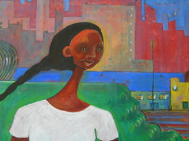 """Painting titled """"Dreamscape 3 (The R…"""" by Rochele Royster, Original Art,"""